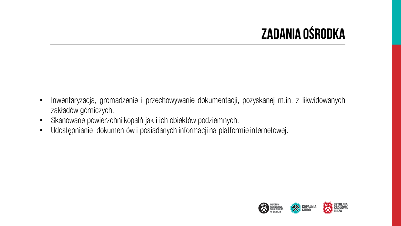 Porozumienie w sprawie Ośrodka Dokumentacji Górniczej