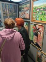 Wystawa- Stulecie amatorskiego ruchu plastycznego w województwie śląskim.