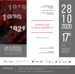 AKADEMIA PO SZYCHCIE 2020 - październik