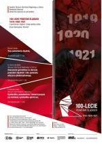 100-lecie Powstań Śląskich 1919-1929-1921